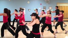 """Love this gal's classes!  She's so easy to follow!  Zumba """"Krazy""""  by Pitbull"""
