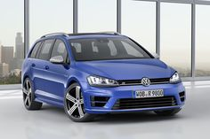 The new Golf R Estate