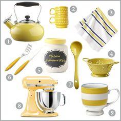 Yellow-kitchen-accessories