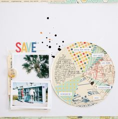 love this layout with pattern pie chart @marcypenner