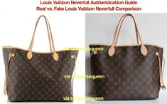 How to spot a fake Louis Vuitton Bag  See it in pictures here ... a1ea9b4b3c546