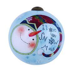 Ne'Qwa I Love You Snow Much Ornament