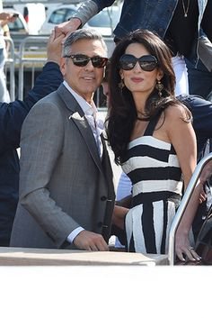 George Clooney and Amal Alamuddin have post-wedding party - Photo 6 | Celebrity news in hellomagazine.com