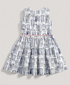 Girls Limited Edition Window Print Dress - Special Occasion & Christening - Mamas & Papas