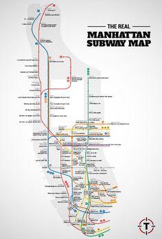 New York City Map Manhattan Manhattan Tourist Map See Map Details