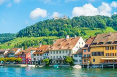 Three Incredible Day Trips from Zurich — Kevin & Amanda Travel Abroad, Us Travel, Rhine Falls Switzerland, Switzerland Travel Guide, Swiss Travel Pass, Zurich, Shutter Speed, Day Trips, Tours