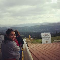 Waiting my turn on the Alpine Slide.,  #alpineslide #gobreck #skisilverthorne