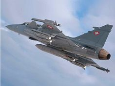 Swiss Air Force Saab Gripen. Air Force Aircraft, Fighter Aircraft, Fighter Jets, Military Helicopter, Military Aircraft, Saab Jas 39 Gripen, Photo Avion, Swiss Air, Airplane Fighter