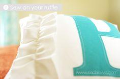 Could make similar for kiana - maybe use idea to make ruffle curtains