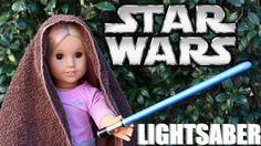 American Girl Doll Star Wars Lightsaber