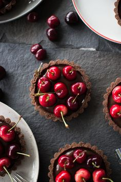 Chocolate Coconut Cherry Tarts | Community Post: 19 Gorgeous Ways To Use Cherries This Summer