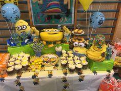 Minions birthday party theme Birthdays and party decor Pinterest