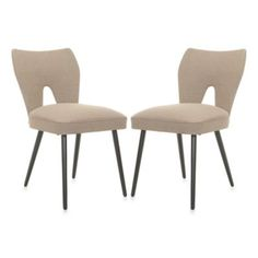 Safavieh Julia Dining Chair in Beige (Set of 2) - BedBathandBeyond.com