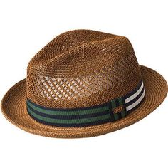 Men's Bailey of Hollywood Berle Fedora 81702 Copper by Bailey of Hollywood