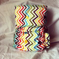 SYOFOne Size Cloth Diaper All in Two AI2 Made to by SewSillyD, $19.00