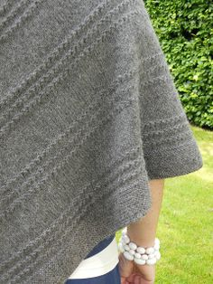 Ravelry: elizdalhousie's simple shawl for chilly days.