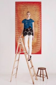 Lela Rose PRE-FALL FW'15-16  This collection is very, very fabulous!