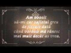 Am obosit - YouTube Chalkboard Quotes, Art Quotes, Words, Music, Youtube, Musica, Musik, Muziek, Music Activities