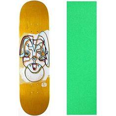Alien Workshop Skateboard Deck Freak Face Rabito 7.8' (Asst Clrs) With Griptape, Multi