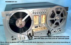 Reel To Real Tape Recorder