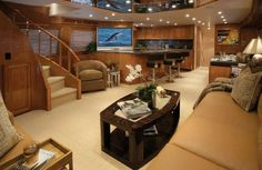 unique yacht interiors pictures | yacht interior1 Ideas for luxury yacht decor