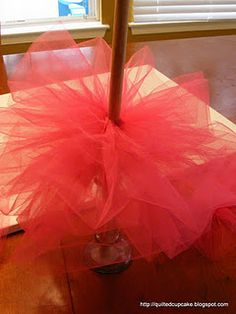 Everyone needs a pink tulle christmas tree!