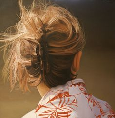 Jacques Bodin, hyperrealist painter....