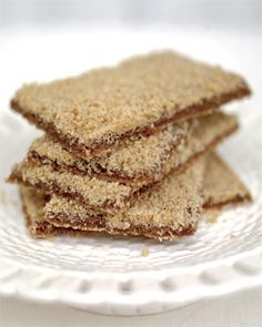 ultimate gingerbread, you can eat this simply as a biscuit, but it also works well sprinkled over ice cream or dipped into warm compote and cream for afternoon tea. And it's especially nice when used as a cheesecake base.