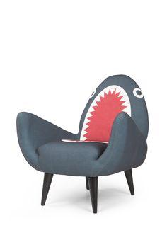 The Rodnik Shark Fin Chair. Everyone needs some shark chic. £449. MADE.COM