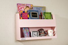 The Bunk Bed Buddy is Perfect for your Top Bunk Bookworm!