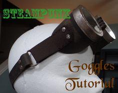 Steampunk Goggles Tutorial | GoneCatawampus.com