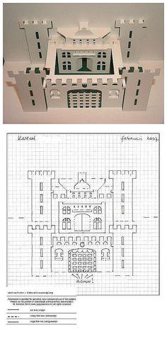 Papel de papel origami corte handmade DIY] [Cartão Pop-up