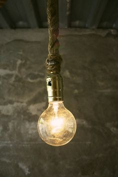 #rope #design #tasarim #aydinlatma #lighting #dizayn #lamba #ampul #lamp #decor #dekorasyon #decoration #dekor #halat
