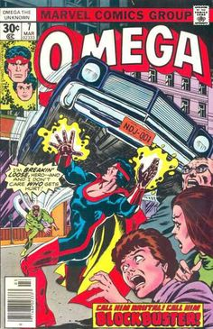 Omega the Unknown #7 - Blockbuster! - March 1, 1977