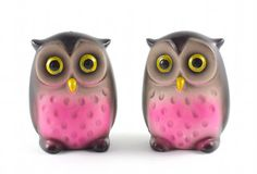 Mod Owl Salt and Pepper Shakers