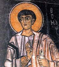 this web site has all of the Christian Apocrypha. Icon of Thomas