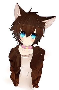 Read Doki Doki literature club from the story my oc book by (Actual Dalek) with 52 reads. A/n : if me and my bro where in the psy. Gato Anime, Anime Neko, Kawaii Anime, Neko Boy, Cute Anime Chibi, Cute Anime Guys, Wolf Boy Anime, Magic Anime, Furry Oc