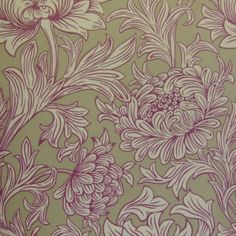 Beautiful  Morris Chrysanthemum Toile DMOWCH102 Designer Fabrics and Wallpapers by Sanderson, Harlequin, Morris, Osborne, Little And many more