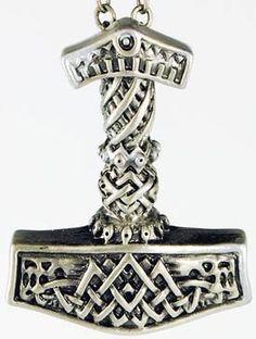 #celtic #druid #norse Light Thor's Hammer pendant