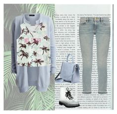 Faint by peppermintdm on Polyvore featuring мода, VILA, Chicnova Fashion and Frame Denim