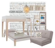 """""""Dorm Decor"""" by marionmeyer ❤ liked on Polyvore featuring interior, interiors, interior design, home, home decor, interior decorating, PBteen and dormdecor"""