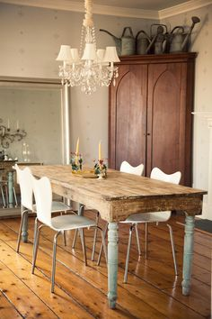 French Country style chandelier