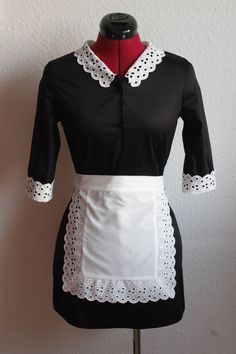 American Horror Story Young Moira dress, Maid, Costumemaid for beautiful Ninette. Check out my Facebookpage https://www.facebook.com/TheTailorwitch/