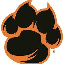 weber state wildcats secondary logo 2012 wildcat paw cl balls rh pinterest com paw logo du paw logos names