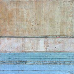 "Muro II, 18 x 18"" encaustic, oils, pigments and cold wax © 2012-2013 Stephanie Dalton/Dalton Projects"