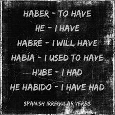 How to Learn Spanish Verbs – Learn Spanish Spanish Help, Learn To Speak Spanish, Spanish Basics, Spanish Songs, Spanish Phrases, Spanish Vocabulary, Spanish English, Spanish Grammar, Spanish Lessons