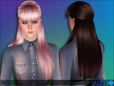 Hairdo for females  Found in TSR Category 'Female Sims 3 Hairstyles'