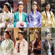 'Tis only but eight of circa hundred Empress Ki's dresses in the show. They're just so magnificent *u*