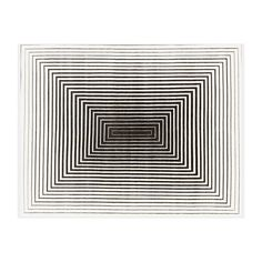 Illulian 'Rehab' rug (5,700 CAD) ❤ liked on Polyvore featuring home, rugs, backgrounds, effects, black white rug, fabric rug, white area rug, black white area rug and white rug