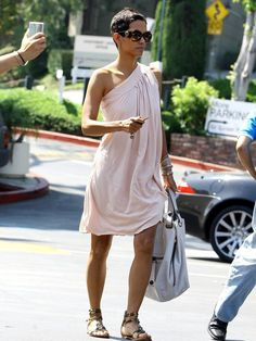 halle berry. beautiful day dress